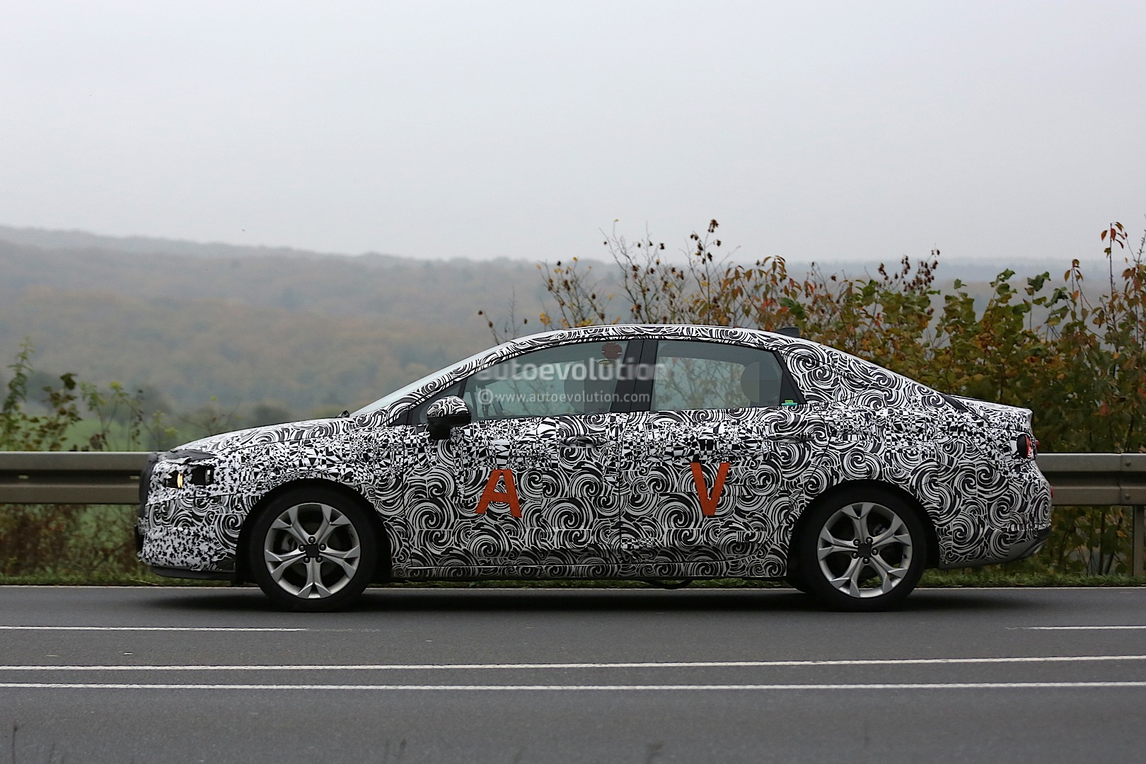 2016 Buick Verano Spied Looks Like An Opel Astra Sedan