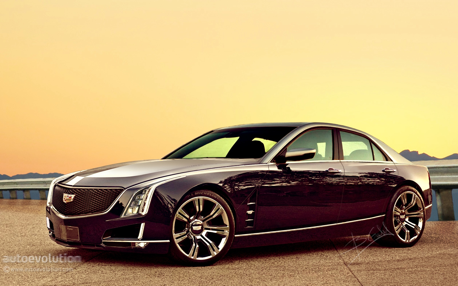 2016 Cadillac Ct6 Featured On The Automaker S Website