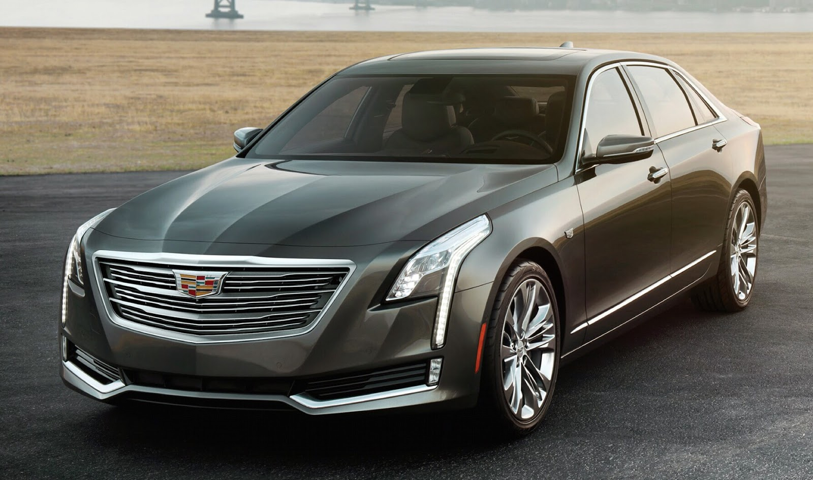 2016 Cadillac CT6 Leaked Ahead of NYIAS Debut - autoevolution