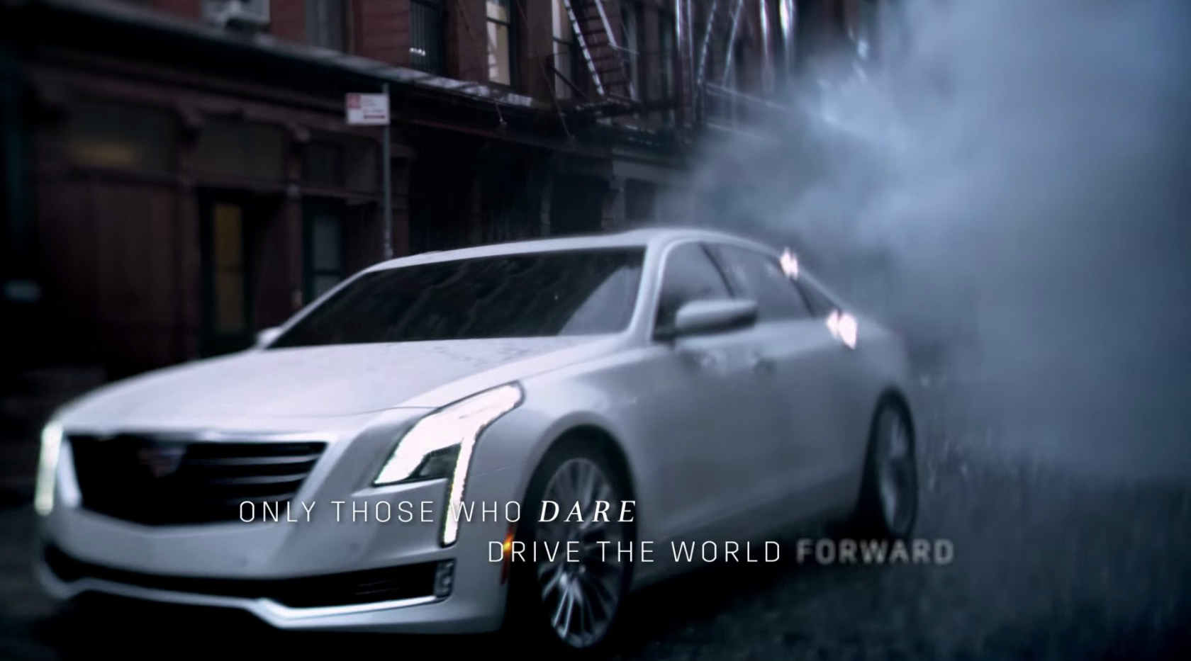 2016 cadillac ct6 sedan revealed in oscars ad wants us to. Black Bedroom Furniture Sets. Home Design Ideas