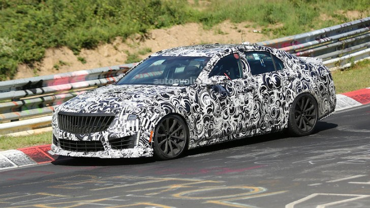 2016 Cadillac CTS-V Confirmed for Detroit Auto Show Debut in January [Video] [Photo Gallery]
