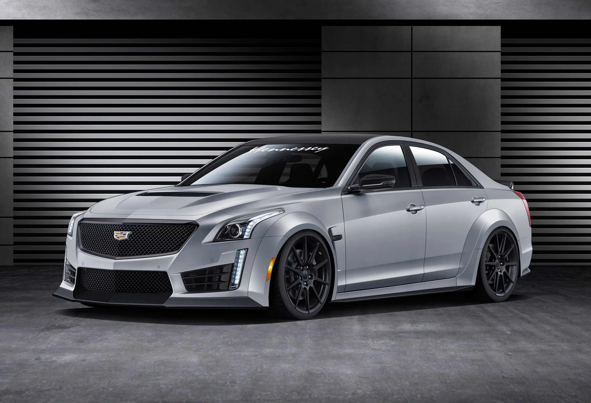 2016 Cadillac CTS V Dialed Up to 1 000 HP by Hennessey Performance