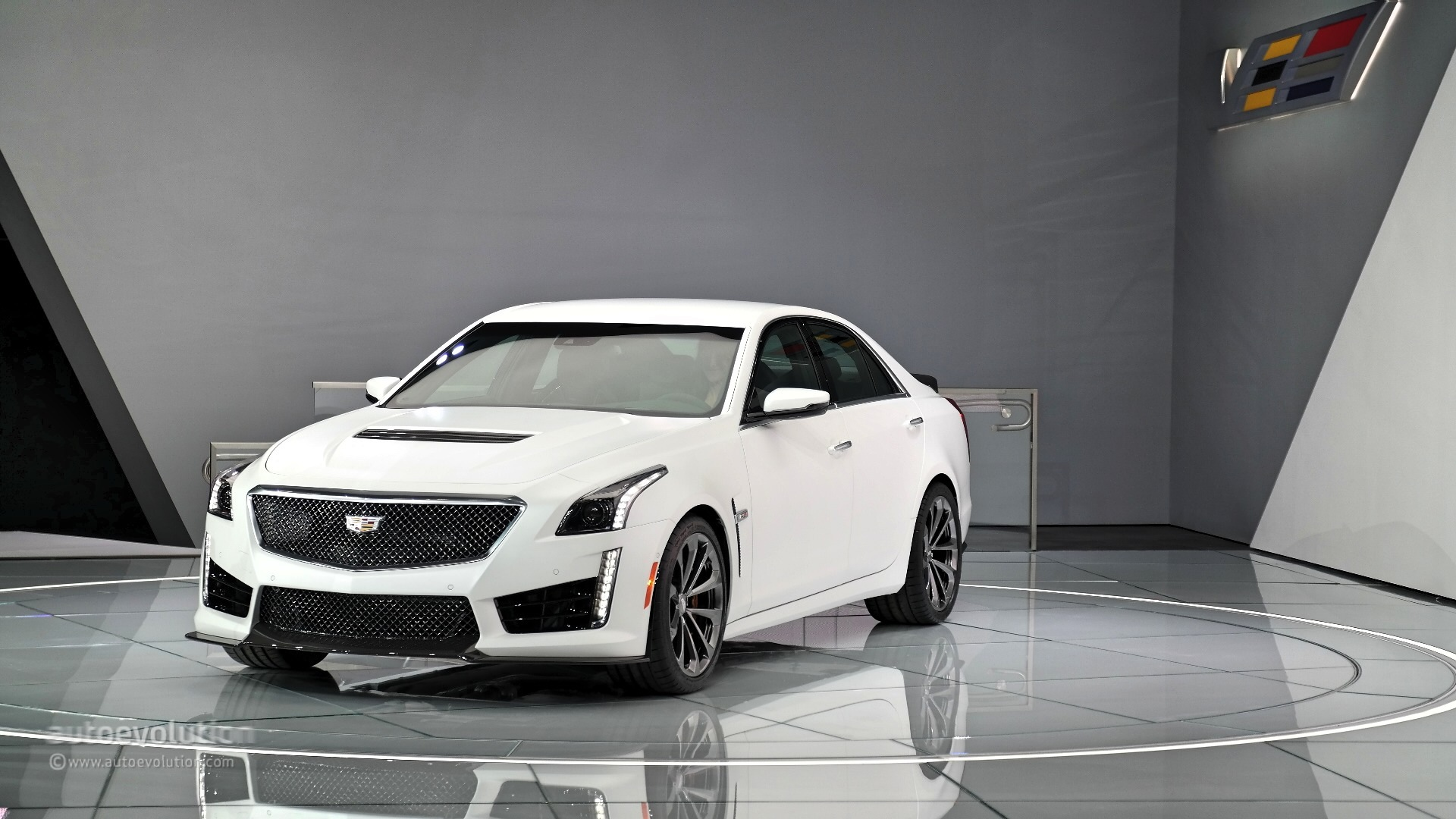 cts v crop march cadillac autogespot