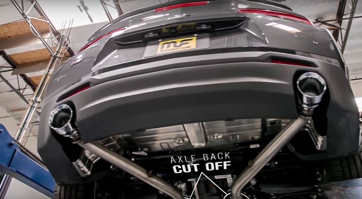 2016 Camaro V6 Sounds Incredibly Meaty with Magnaflow Rear Muffler