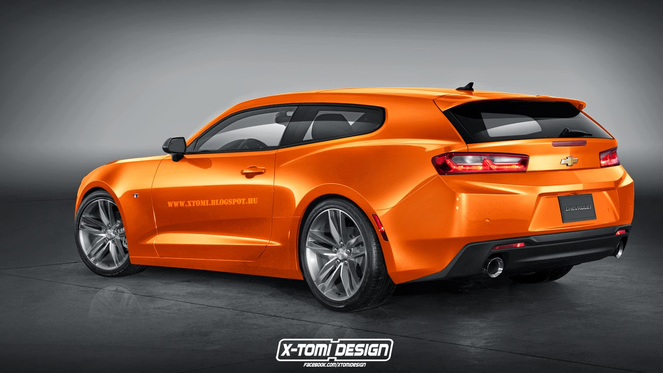 2016 Chevrolet Camaro Rendered As Breadvan Shooting Brake For The Badass Family Guy