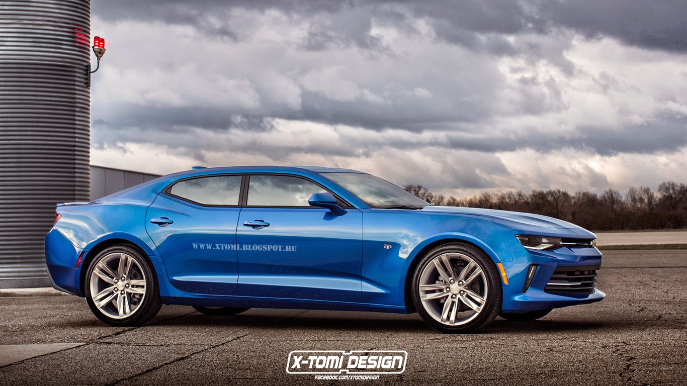 2016 Chevrolet Camaro Rs Rendered In Sedan Ego Becomes A