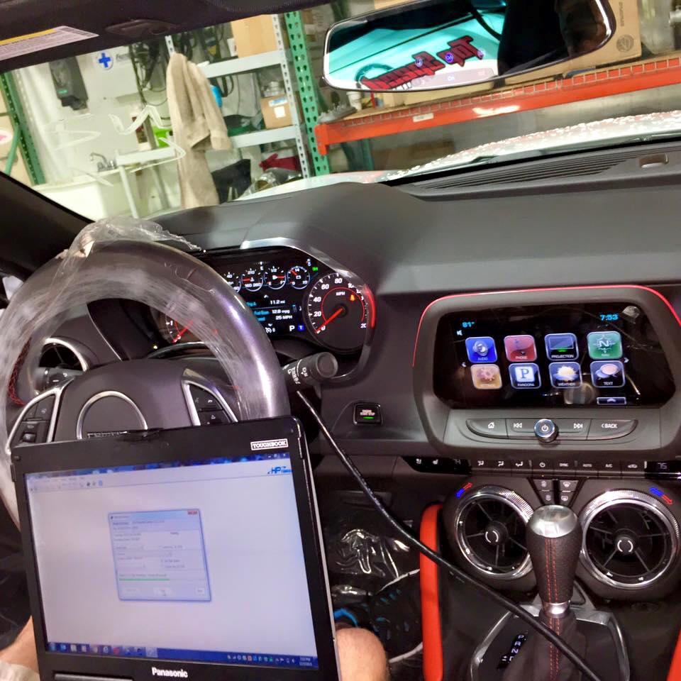 2016 Camaro Ss Gets Ecu Tune Drag Radials From Redline
