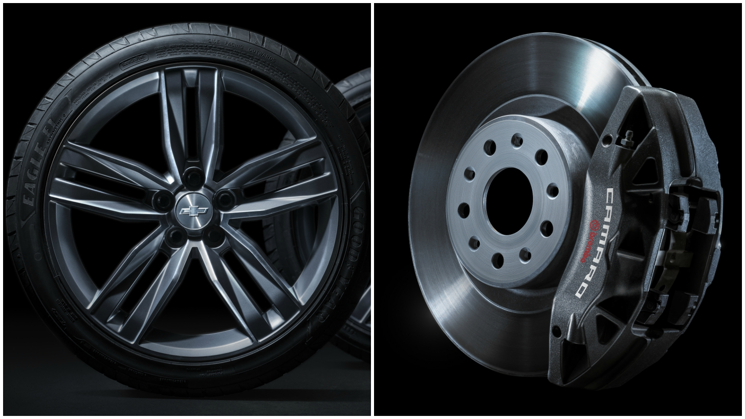 2016 chevrolet camaro teaser here are the wheels tires and brakes of the sixth gen autoevolution. Black Bedroom Furniture Sets. Home Design Ideas