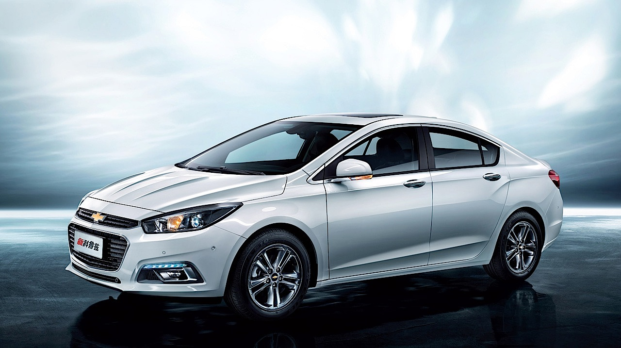 2016 chevrolet cruze introduced at beijing auto show live photos autoevolution. Black Bedroom Furniture Sets. Home Design Ideas