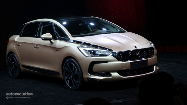 2016 Citroen Ds5 Brings French Luxury Redefined In Shanghai