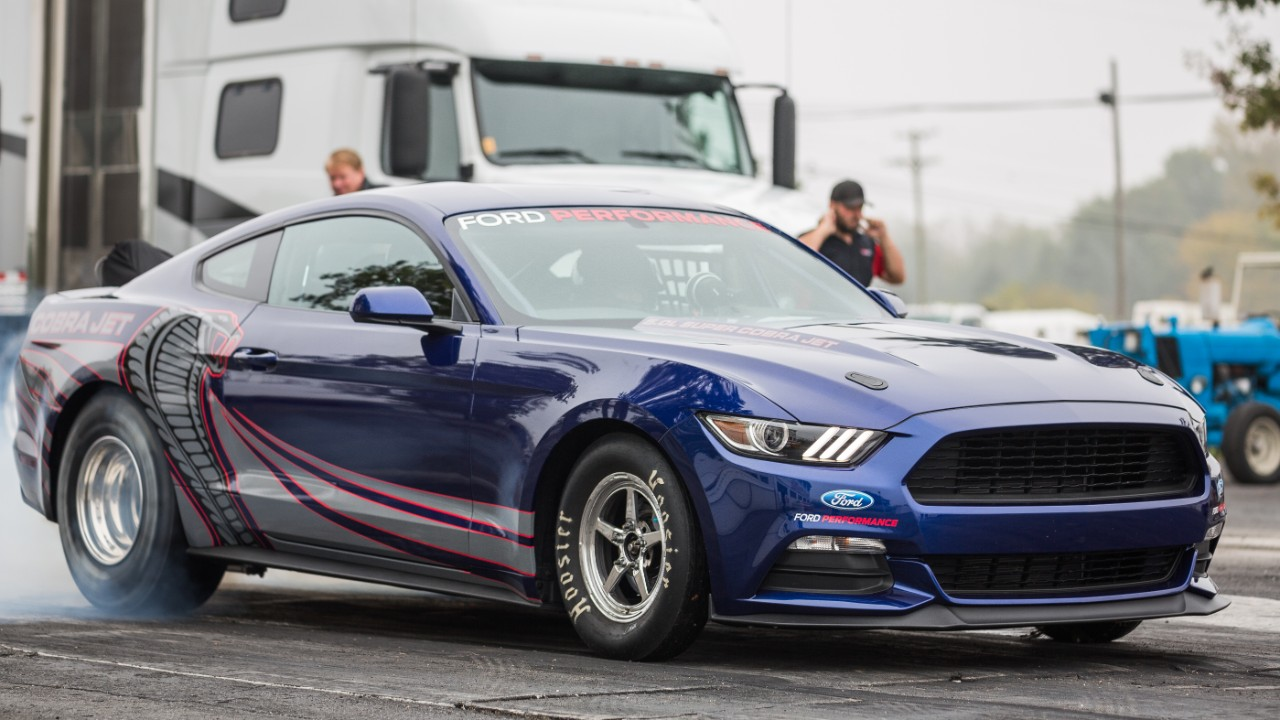 2016 Cobra Jet Mustang Is An 8 Second Dragstrip Warrior Autoevolution