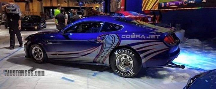 2016 Cobra Jet Mustang Secretly Photographed Ahead Of SEMA Debut