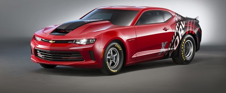 2016 copo camaro debuts with solid rear axle and concept 350ci rh autoevolution com