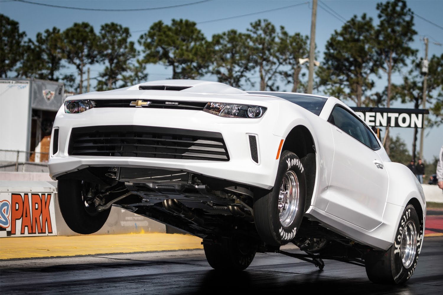 2016 COPO Camaro Pulls a Wheelie, Shows Us Solid Rear Axle and V8 in ...