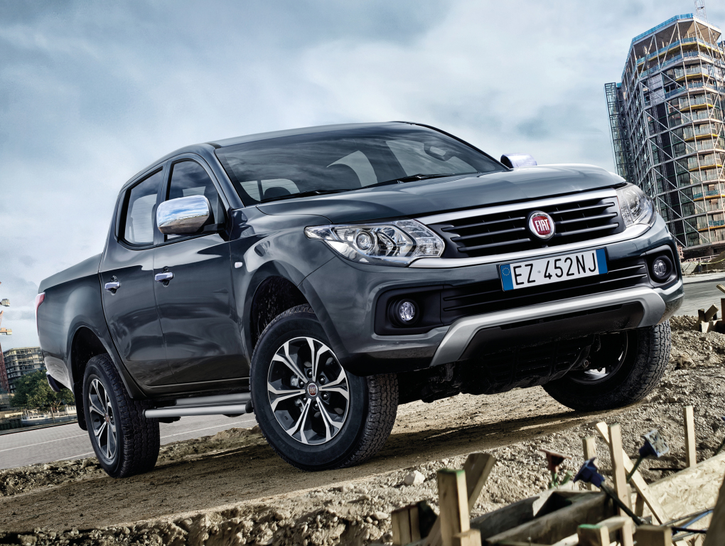 2016 fiat fullback will go on sale in europe in may. Black Bedroom Furniture Sets. Home Design Ideas