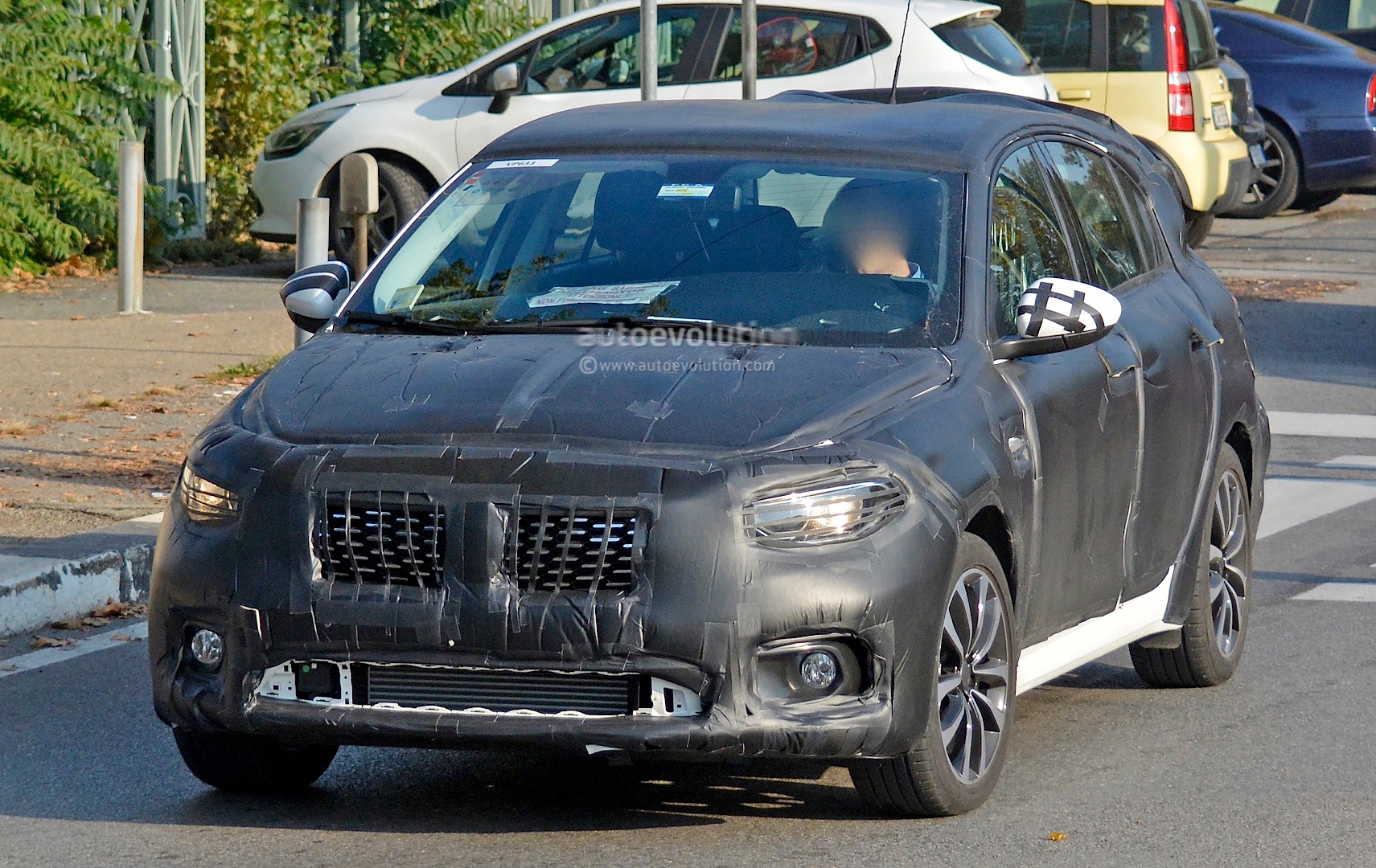 2016 Fiat Tipo Hatchback First Spy Photos Show Future Golf Rival