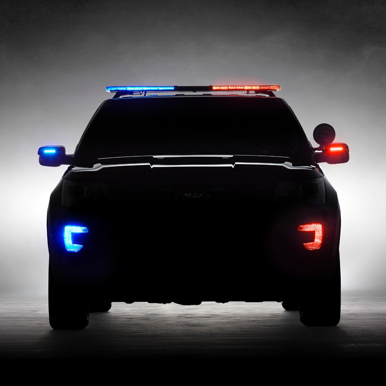 2016 ford explorer police interceptor utility teased before chicago auto show unveiling