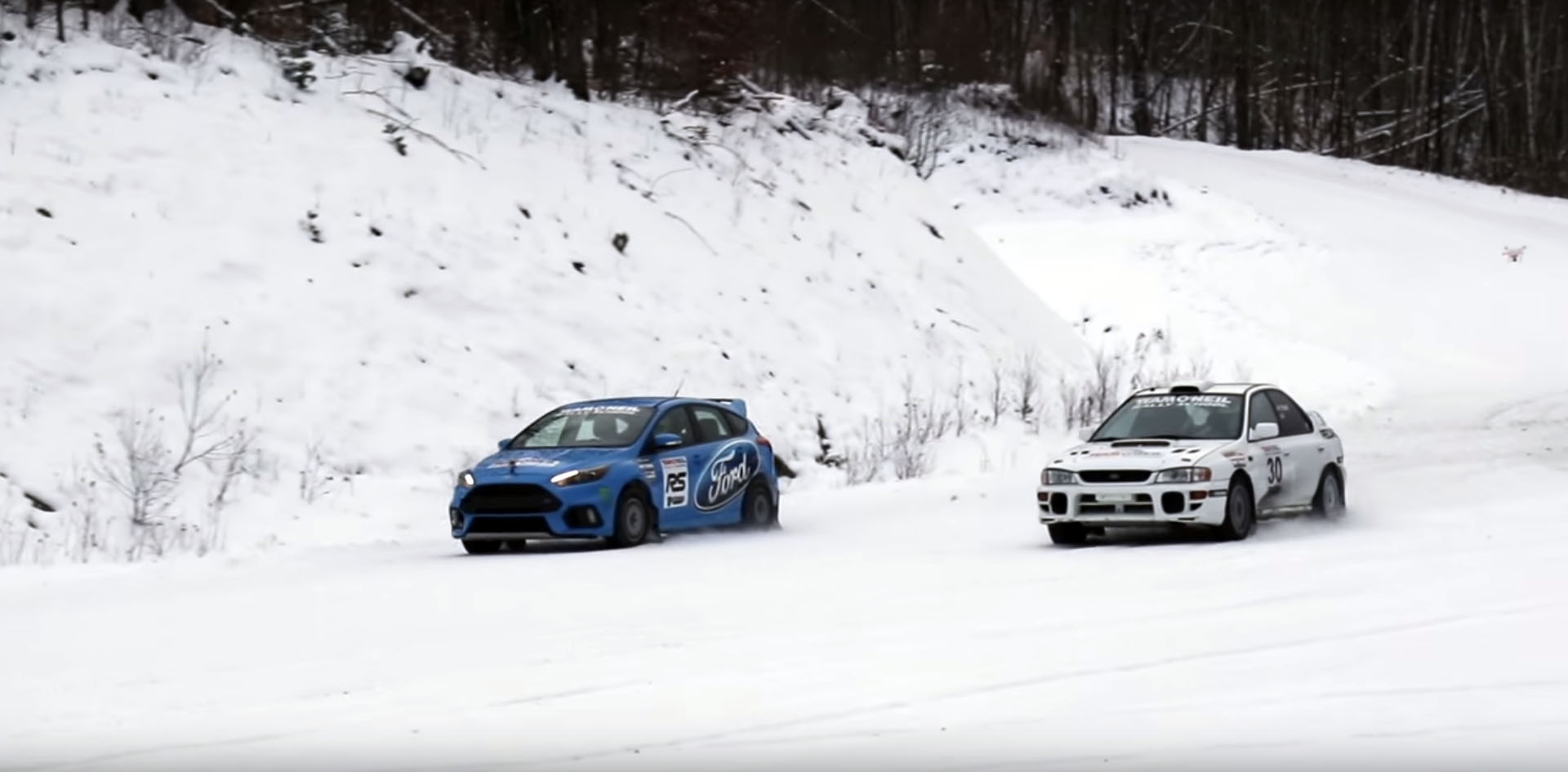 2016 Ford Focus RS Pitted Against Rally-Grade Subaru ...