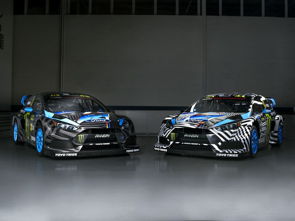 2016 Ford Focus Rs Rx Looks Great In This Graffiti Inspired Livery Autoevolution