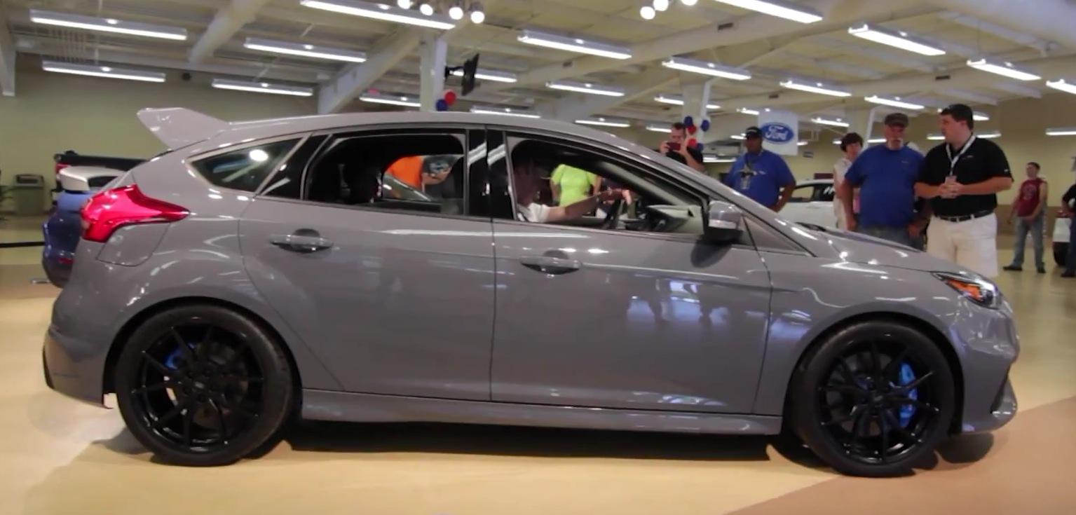 Stealth Grey 2016 Ford Focus Rs Stalls Engine At Ford Nationals Still Cool As Hell Autoevolution