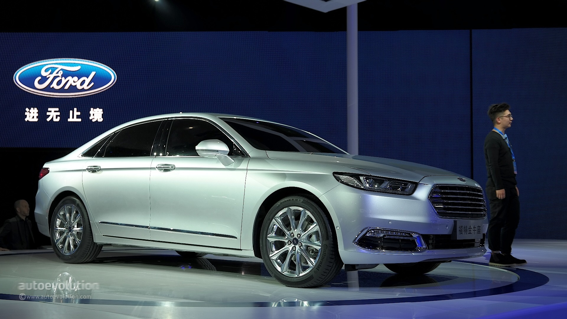 2016 Ford Taurus Shows Up in Shanghai with Long Wheelbase, Premium Features - autoevolution