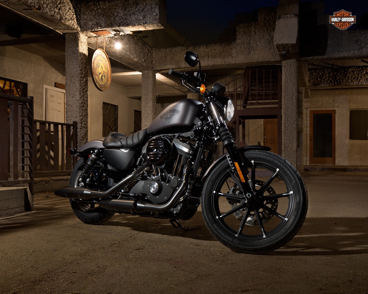2016 harley davidson iron 883 receives suspension upgrades. Black Bedroom Furniture Sets. Home Design Ideas