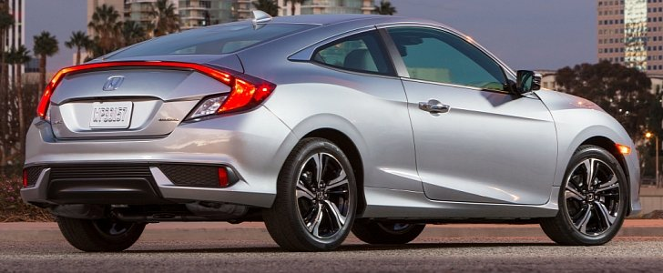2016 Honda Civic Coupe Priced At 19 885 410 More Than The Sedan Autoevolution