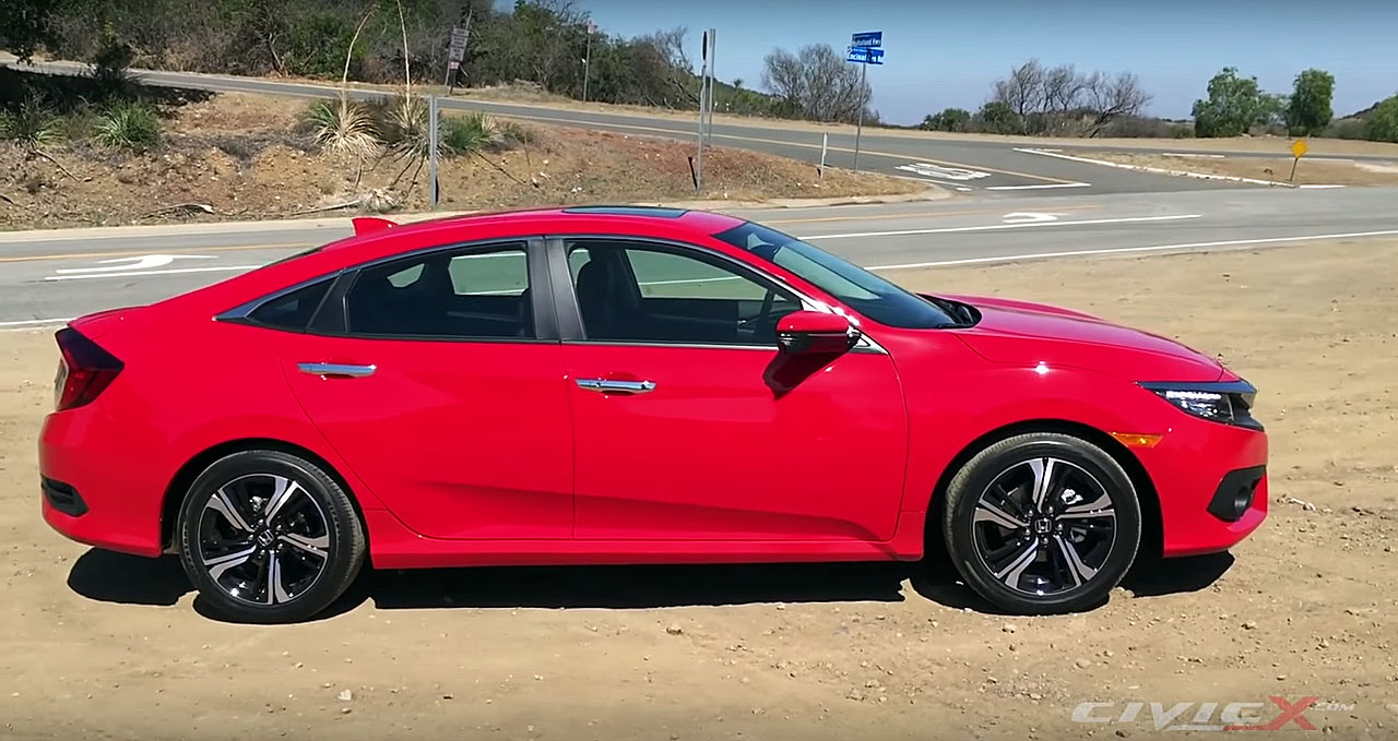 2016 Honda Civic In Six Minute Walkaround Video Inside And Out