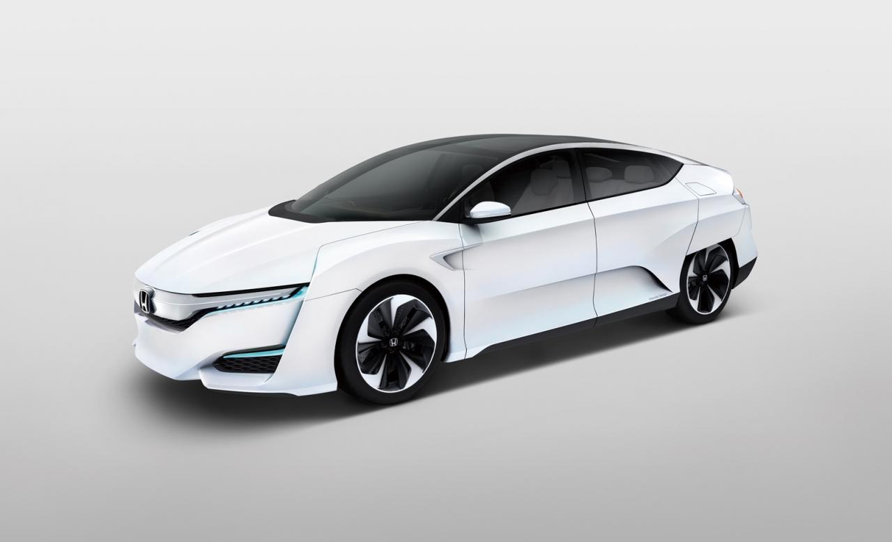 12 Photos 2016 Honda FCV Concept