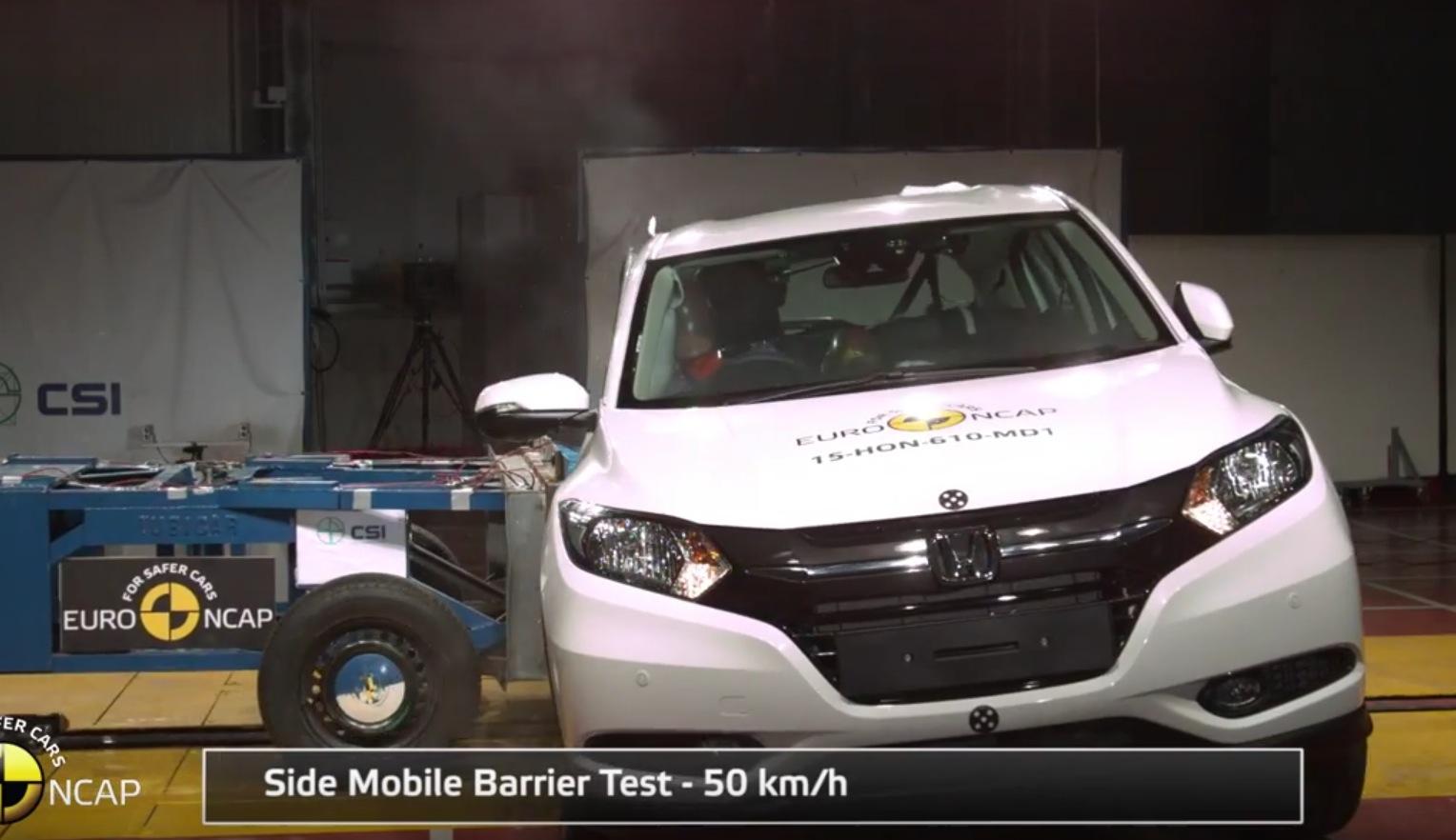 Honda cr v crash test autos post for Honda crv crash test