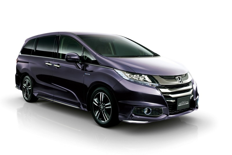 2016 honda odyssey sport hybrid goes on sale in japan. Black Bedroom Furniture Sets. Home Design Ideas
