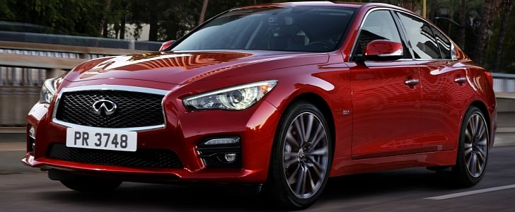 2016 Infiniti Q50 Red Sport 400 Priced At 47 950 Awd Model Starts 49 Autoevolution