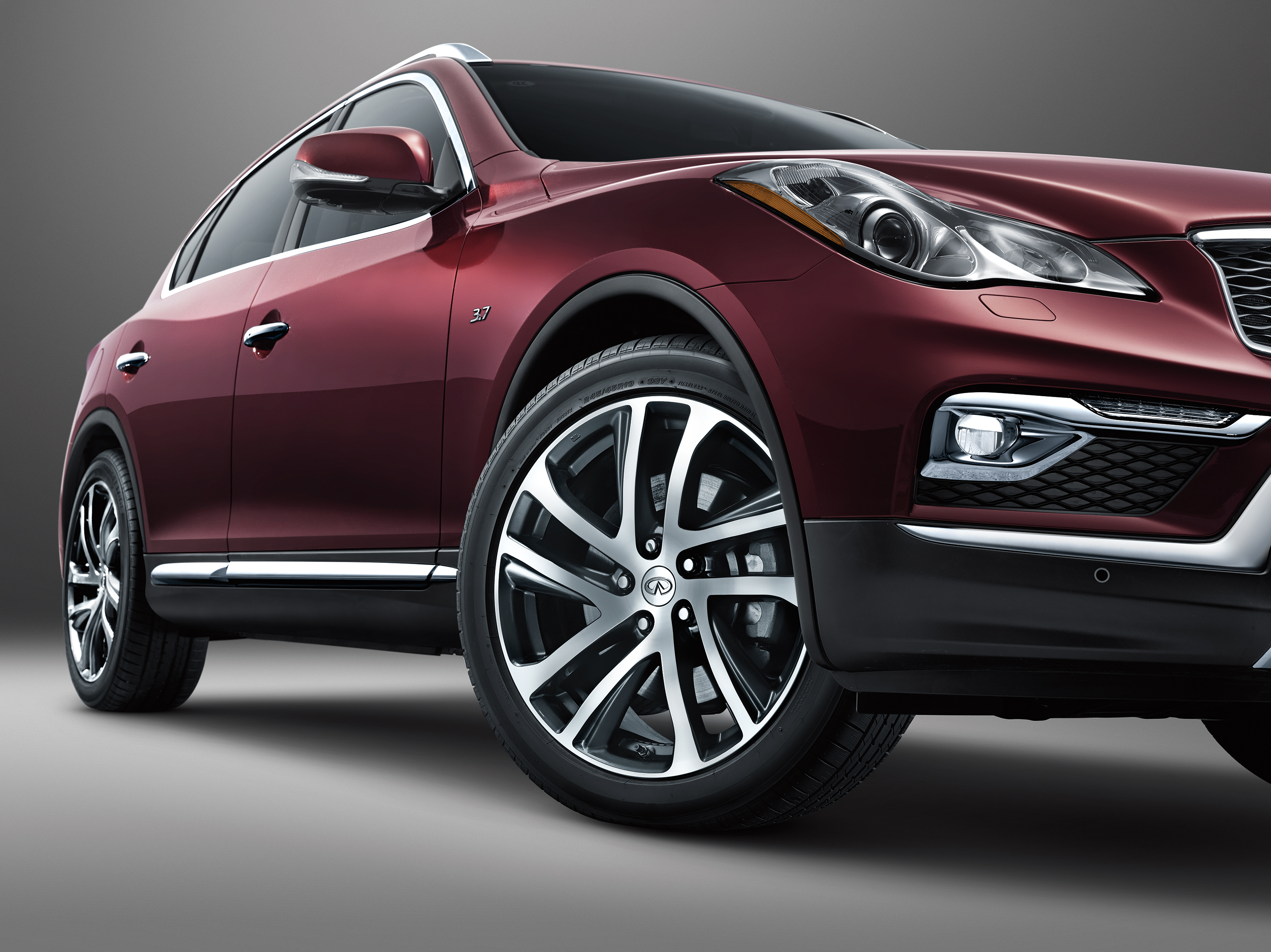 2016 infiniti qx50 adds 3 2 inches to the wheelbase not much else autoevolution. Black Bedroom Furniture Sets. Home Design Ideas
