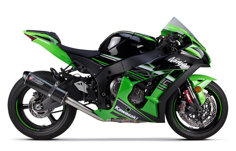 2016 Kawasaki Ninja ZX 10R Already Receives TBR Aftermarket Exhausts
