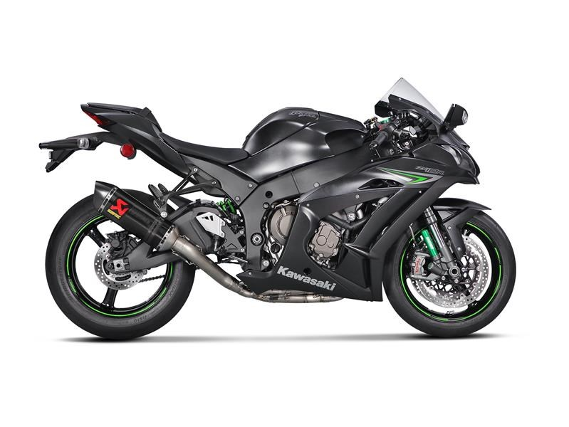 2016 Kawasaki Ninja ZX-10R Gains 16 HP with the New Akrapovic