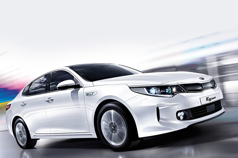 2016 kia optima sports hybrid sedan debuts in korea autoevolution. Black Bedroom Furniture Sets. Home Design Ideas