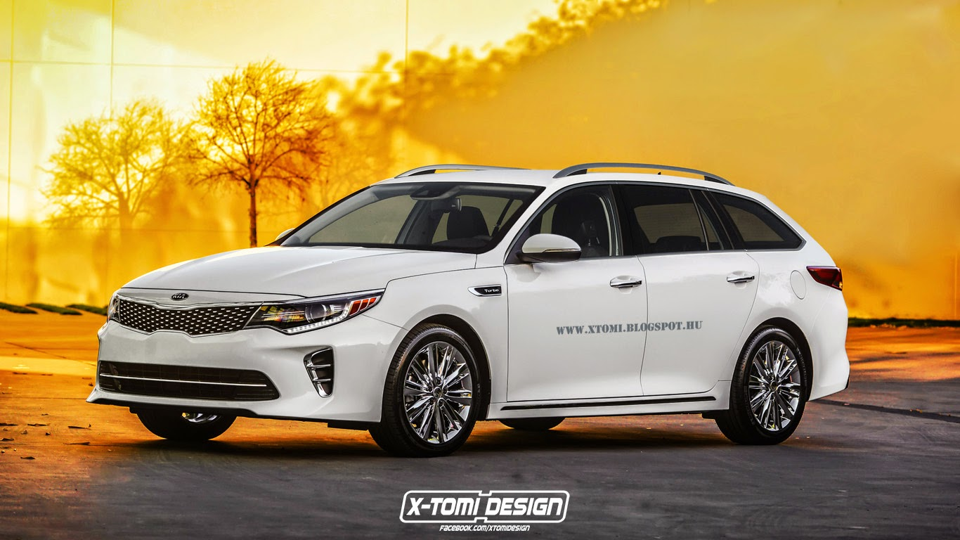 2016 kia optima wagon rendered but it 39 s not going to be built autoevolution. Black Bedroom Furniture Sets. Home Design Ideas