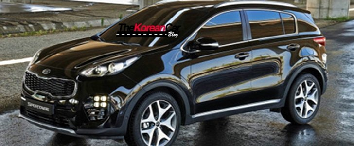 2016 kia sportage official pictures surface online the. Black Bedroom Furniture Sets. Home Design Ideas