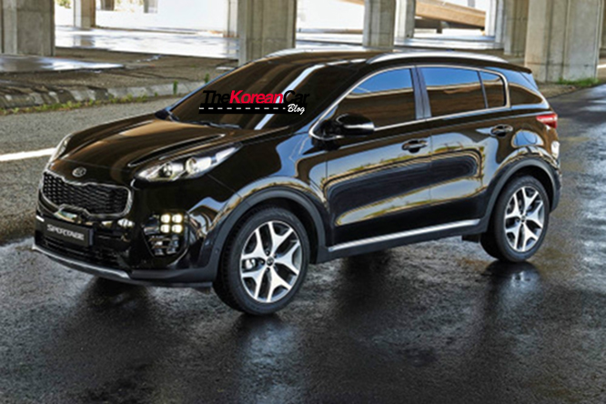 2016 kia sportage official pictures surface online the suv 39 s new face is still confusing. Black Bedroom Furniture Sets. Home Design Ideas