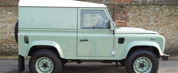 Worksheet. 2016 Land Rover Defender 90 Heritage Edition Up for Sale