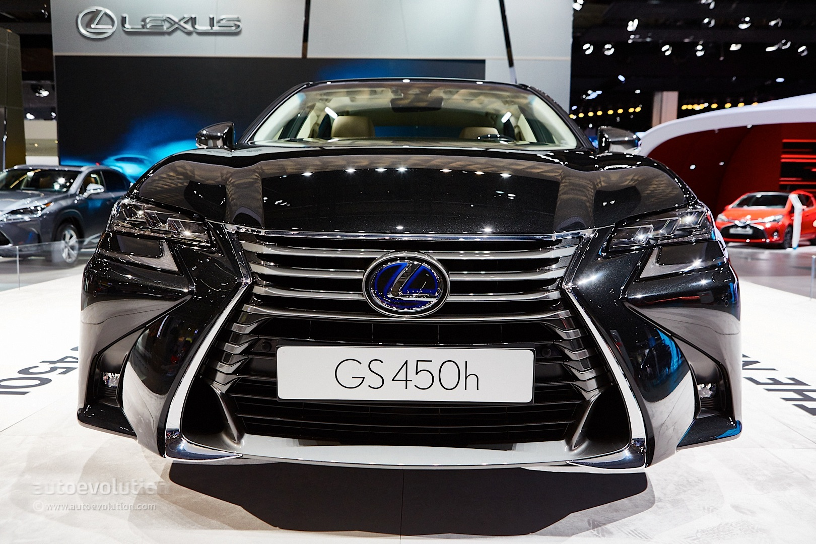 2016 lexus gs 450h facelift debuts with spindle grille 2 0. Black Bedroom Furniture Sets. Home Design Ideas