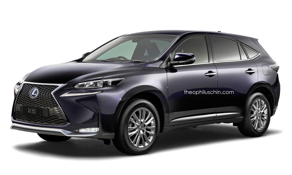 2016 Lexus Rx Rendered Bigger Suv 3 Row Version To