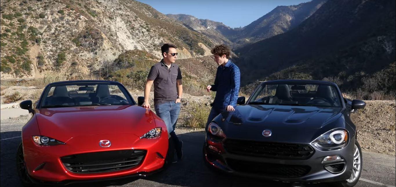 4 Photos 2016 Mazda Miata Vs 2017 Fiat 124