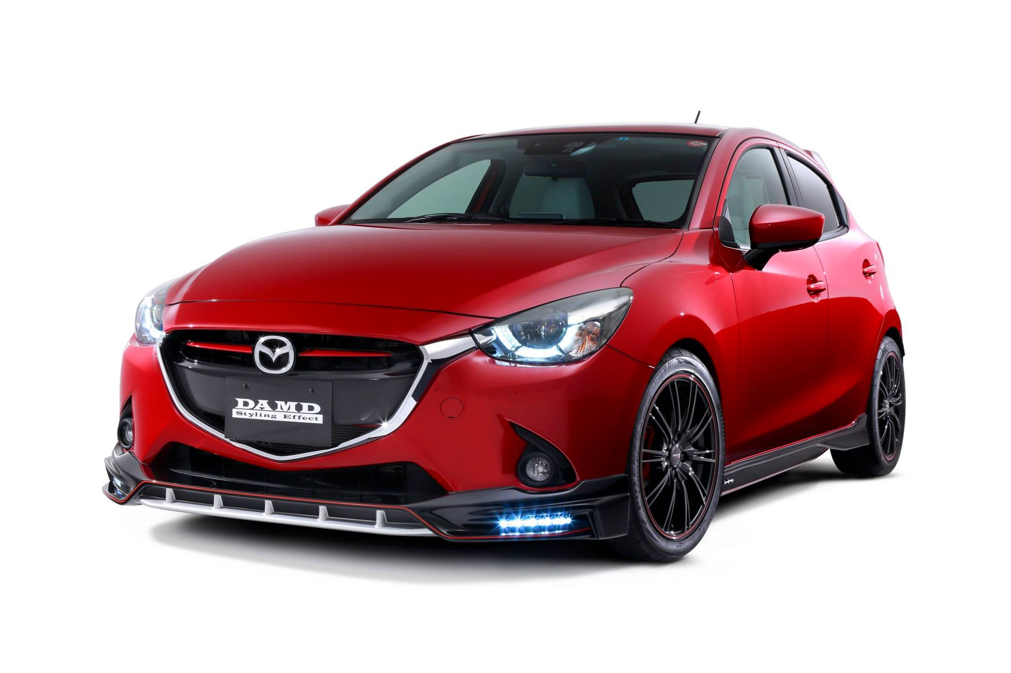 2016 Mazda2 And Cx 3 Get Aggressive Body Kits From Damd In
