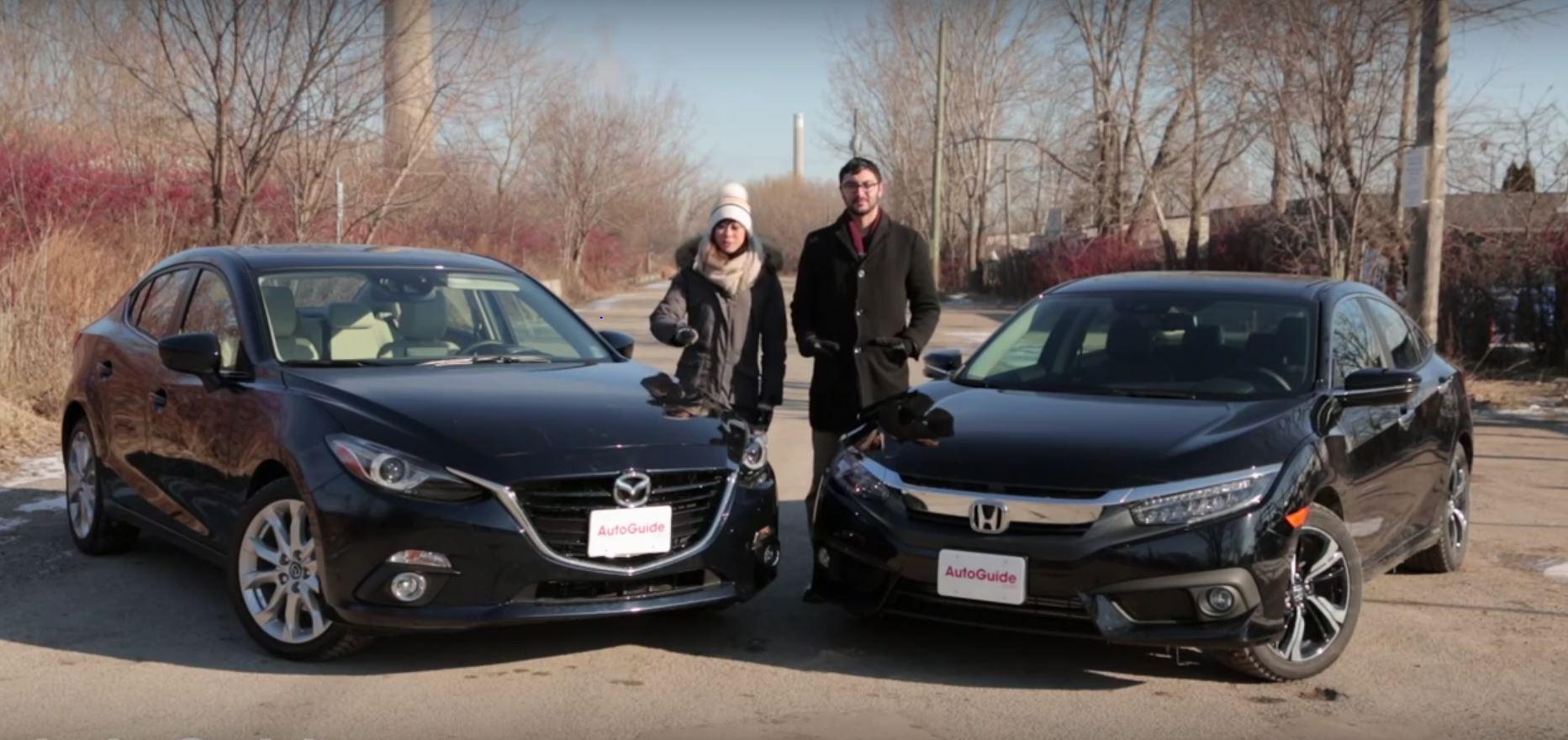2016 Mazda3 Vs 2016 Honda Civic Who Will Win The War Of