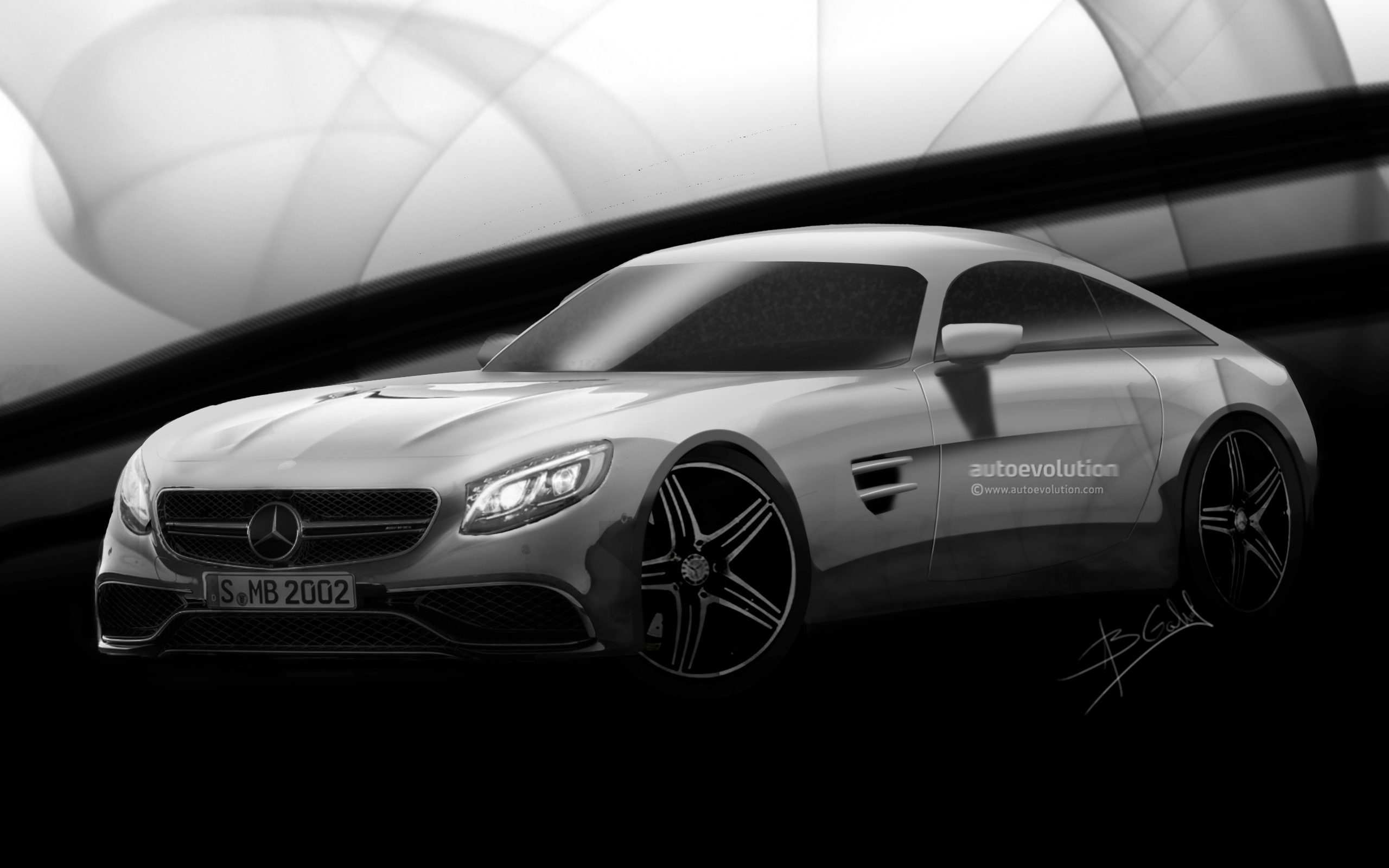 2016 mercedes benz amg gt rendered why it matters updated autoevolution. Black Bedroom Furniture Sets. Home Design Ideas
