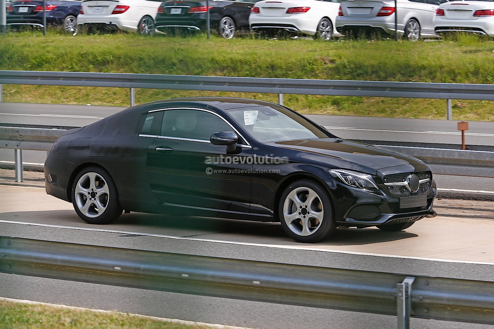 2016 Mercedes Benz C Class Coupe C205 Spied Sporting Less