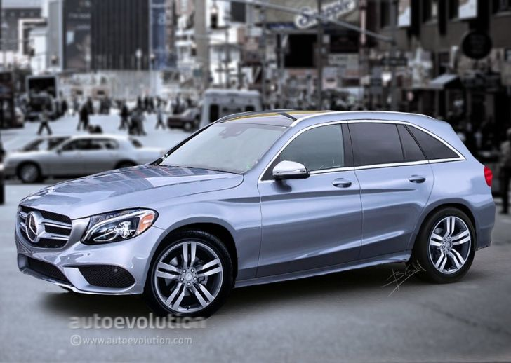 2016 Mercedes GLK to Become GLC, Here Are the Details