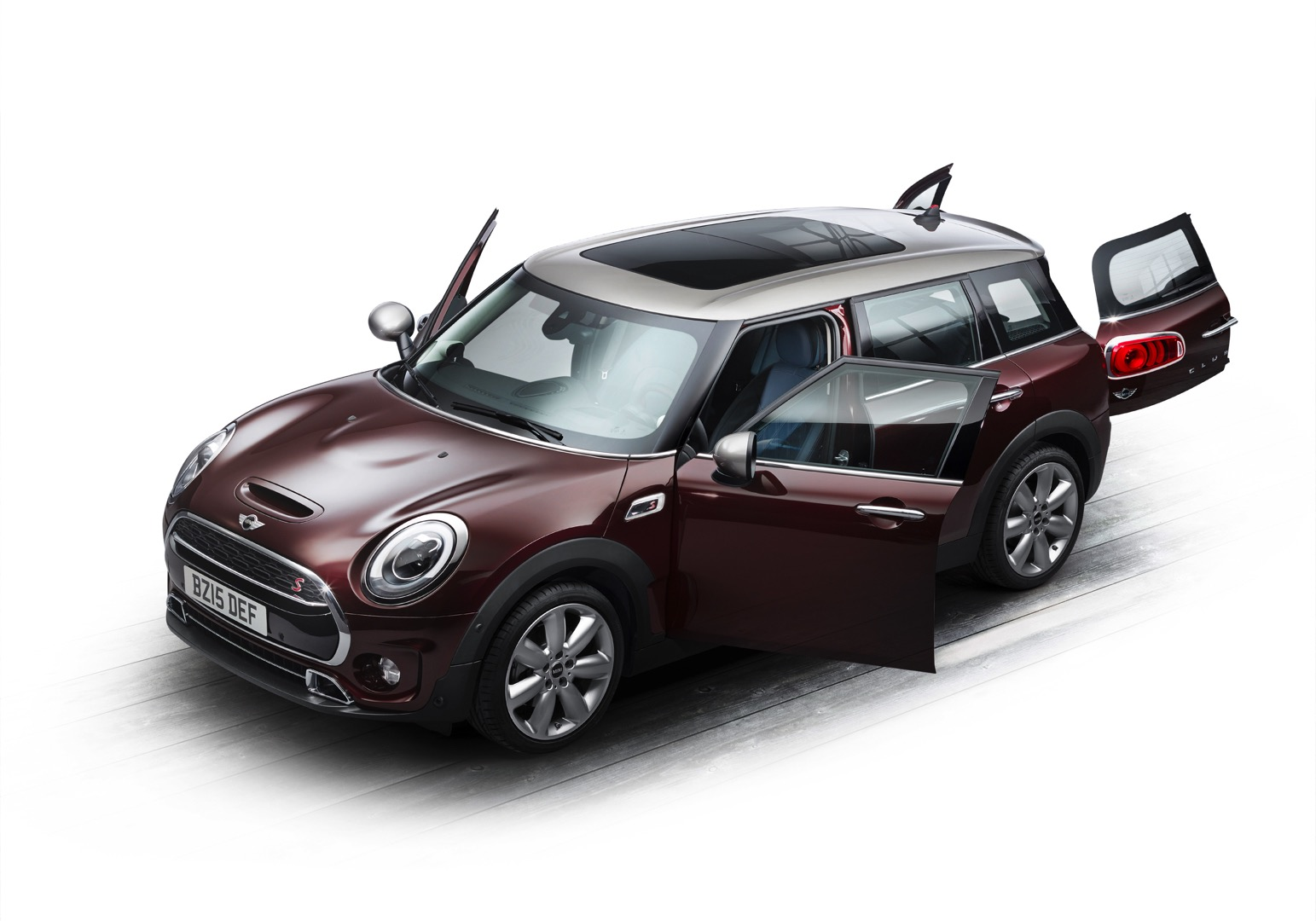 2016 mini clubman unveiled entering the premium compact segment autoevolution. Black Bedroom Furniture Sets. Home Design Ideas