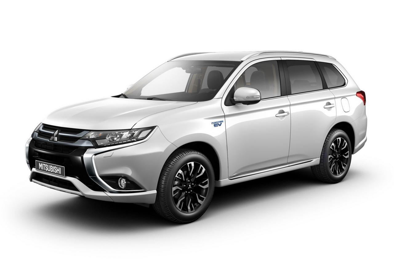 2016 Mitsubishi Outlander PHEV (EU-spec) Will Make a Debut at Frankfurt 2015 - autoevolution